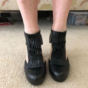 Loeffler Randall black booties